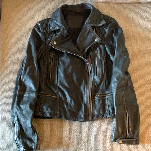 All Saints Jackets & Blazers - Limited Edition All Saints Leather Jacket 4